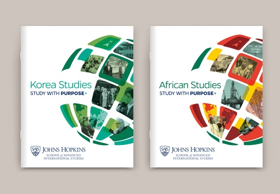 Johns Hopkins University Location Admissions Brochures
