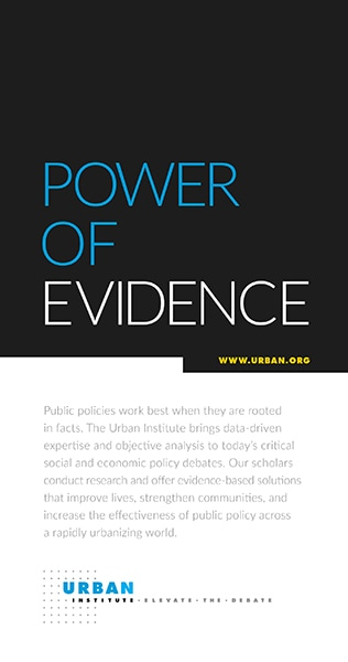 Urban Institute General Brochure Cover
