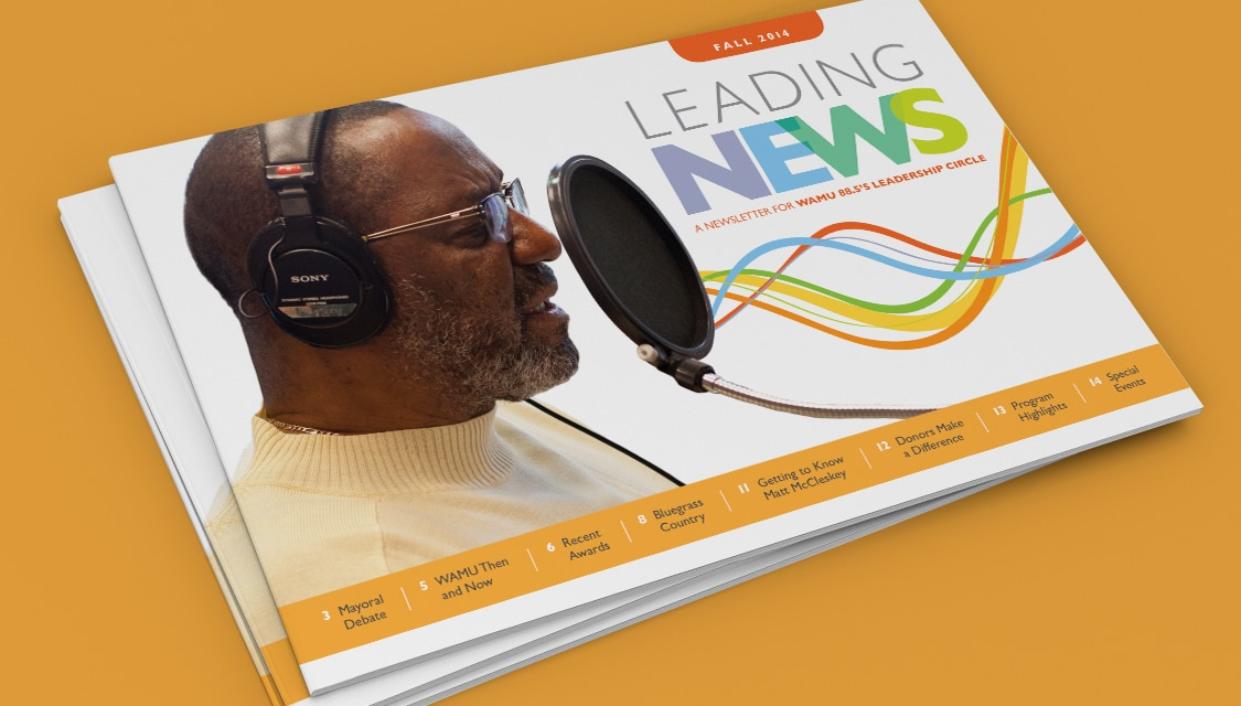 WAMU Newsletter Cover